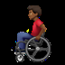 Man In Manual Wheelchair: Medium-dark Skin Tone