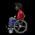 Man In Manual Wheelchair: Dark Skin Tone