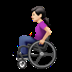 Woman In Manual Wheelchair: Light Skin Tone