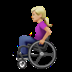 Woman In Manual Wheelchair: Medium-light Skin Tone