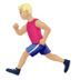🏃🏼‍♂️ man running: medium-light skin tone Emoji on Apple Platform
