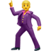 🕺 man dancing Emoji on Apple Platform
