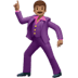 🕺🏽 man dancing: medium skin tone Emoji on Apple Platform