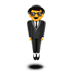 🕴️ man in suit levitating Emoji on Apple Platform