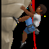 🧗🏾 Medium Dark Skin Tone Person Rock Climbing Emoji on Apple Platform