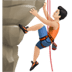 🧗🏻‍♂️ man climbing: light skin tone Emoji on Apple Platform