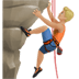 🧗🏼‍♂️ man climbing: medium-light skin tone Emoji on Apple Platform