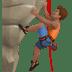 Man Climbing: Medium Skin Tone
