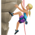 🧗🏼‍♀️ woman climbing: medium-light skin tone Emoji on Apple Platform
