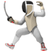 🤺 person fencing Emoji on Apple Platform