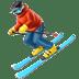 ⛷️ Person Skiing Emoji on Apple Platform