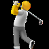 🏌️ person golfing Emoji on Apple Platform
