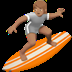 Person Surfing: Medium Skin Tone