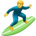 🏄‍♂️ man surfing Emoji on Apple Platform