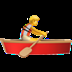 🚣 person rowing boat Emoji on Apple Platform