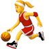 ⛹️‍♀️ woman bouncing ball Emoji on Apple Platform