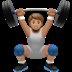 Medium Skin Tone Person Lifting Weights