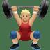 Medium Light Skin Tone Man Lifting Weights