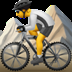 🚵 person mountain biking Emoji on Apple Platform