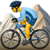 🚵‍♂️ man mountain biking Emoji on Apple Platform