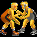 🤼 people wrestling Emoji on Apple Platform