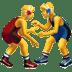 🤼♂️ Men Wrestling Emoji on Apple Platform