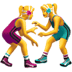 🤼♀️ women wrestling Emoji on Apple Platform
