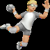 🤾🏼 person playing handball: medium-light skin tone Emoji on Apple Platform