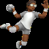 Person Playing Handball: Medium-dark Skin Tone