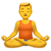 🧘‍♂️ man in lotus position Emoji on Apple Platform