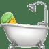 🛀 person taking bath Emoji on Apple Platform