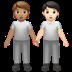 People Holding Hands: Medium Skin Tone, Light Skin Tone