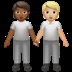 People Holding Hands: Medium-dark Skin Tone, Medium-light Skin Tone