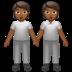 People Holding Hands: Medium-dark Skin Tone