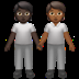 People Holding Hands: Dark Skin Tone, Medium-dark Skin Tone