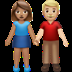 Woman And Man Holding Hands: Medium Skin Tone, Medium-light Skin Tone
