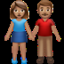 Woman And Man Holding Hands: Medium Skin Tone