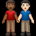 Medium Dark Skin Tone And Light Skin Tone Men Holding Hands