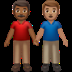 Medium Dark Skin Tone And Medium Skin Tone Men Holding Hands