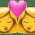 👩❤️💋👩 kiss: woman, woman Emoji on Apple Platform