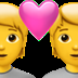 💑 couple with heart Emoji on Apple Platform