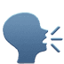 🗣️ Speaking Head Emoji on Apple Platform