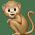 🐒 monkey Emoji on Apple Platform