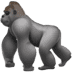 🦍 gorilla Emoji on Apple Platform