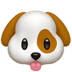 🐶 dog face Emoji on Apple Platform