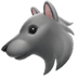 🐺 wolf Emoji on Apple Platform