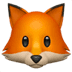 🦊 Fox Emoji on Apple Platform