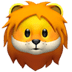 🦁 lion Emoji on Apple Platform