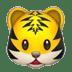 🐯 tiger face Emoji on Apple Platform