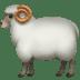 🐏 ram Emoji on Apple Platform